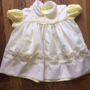 Other - Vintage baby girl 2 layer dress